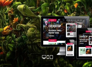 CuckooTap WordPress Theme
