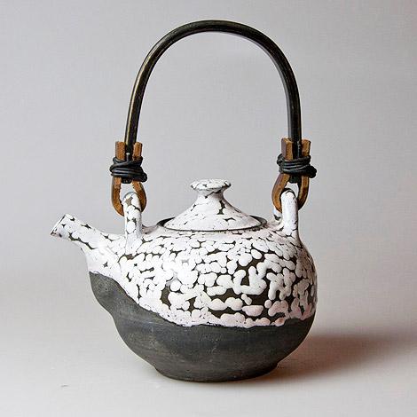 Black and White Teapot
