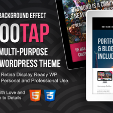 CuckooTap - Responsive Single Page WordPress Theme