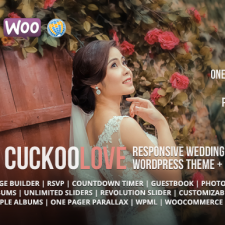 CuckooLove - Responsive Wedding WordPress Theme