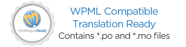 WPML Compatible. Translation Ready.